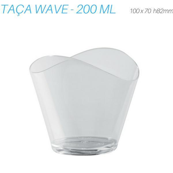 TAÇA WAVE, 200 ML